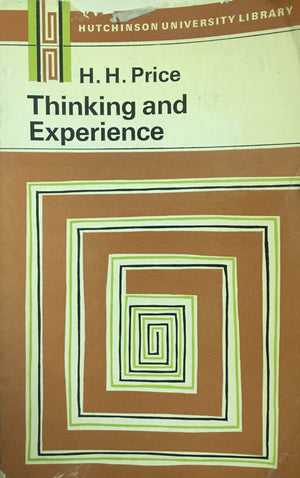 THINKING AND EXPERIENCE