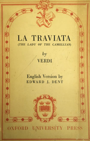 LA TRAVIATA: THE LADY OF THE CAMELLIAS