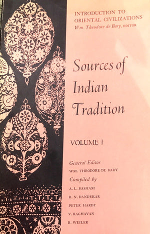 Sources of lindian Tradition 2 tomes