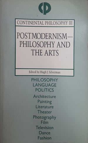 Postmodernism philosophy and arts