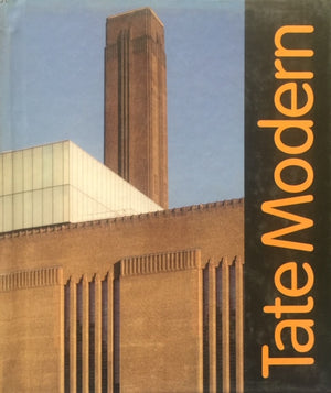 TATE MODERN A Millennium Project  Supported by funds from The National Lottery  Tate Modern Collection    London, 2000  יד שניה, כמו חדש!, חדר קריאה חנות לספרים ישנים וחדשים