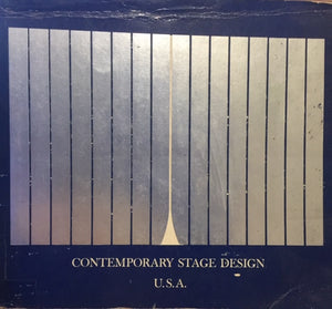 Contemporary Stage Design U.S.A. Edited by Elizabeth B. Burdick, Peggy C. Hansen, Brenda Zanger  International Theatre Institute of the United States  Wesleyan University Press  New York, 1974 םיד שניה, במצב שמור, חדר קריאה חנות לספרים ישנים וחדשין