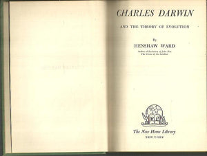 CHARLES DARWIN AND THE THEORY OF EVOLUTION, יד שנייה, חדר קריאה