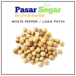White Pepper Seeds / Biji Lada Putih - Pasar Segar | The Fresh Market