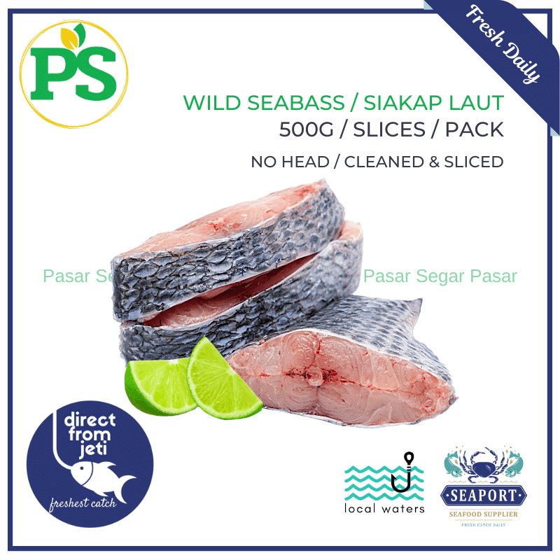 White Pomfret / Bawal Putih (Small - 1KG) - Pasar Segar | The Fresh Market