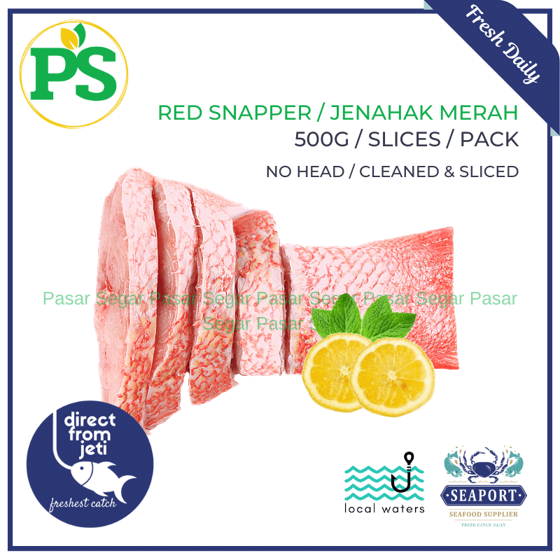 Wild Sea Prawns / Udang Laut (Medium - 500grams) - Pasar Segar | The Fresh Market