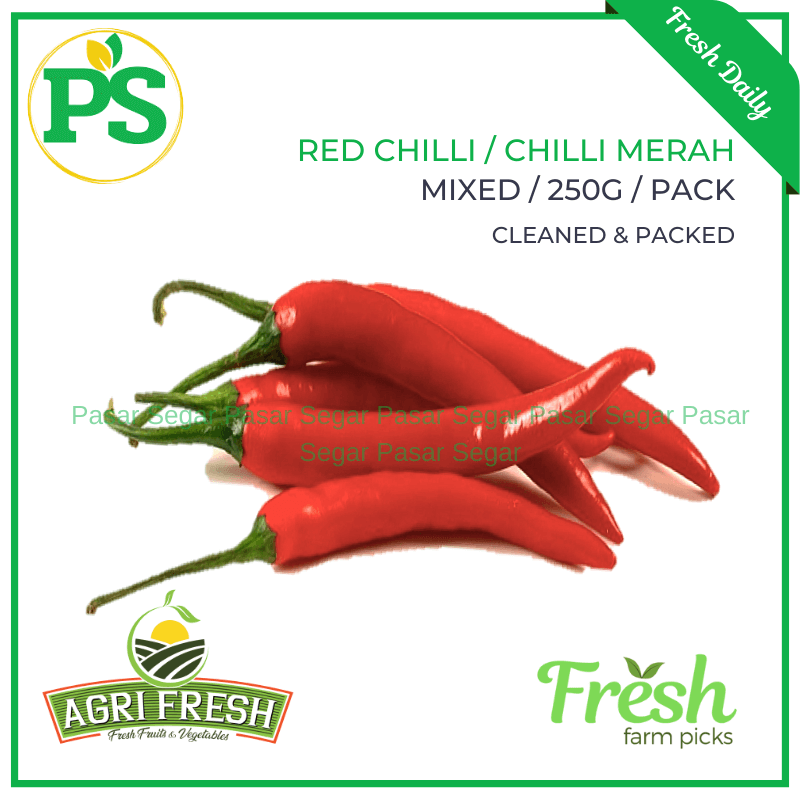 Green Chilli Padi / Chili Padi Hijau (100grams) - Pasar Segar | The Fresh Market