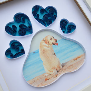 Personalised paw photo