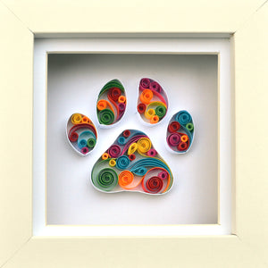 Paw print for pet lovers