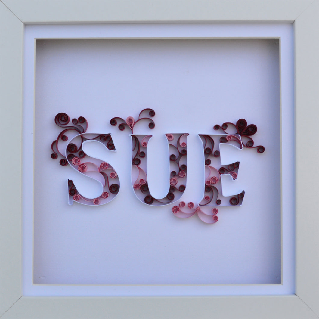 For my wife, 'Sue'