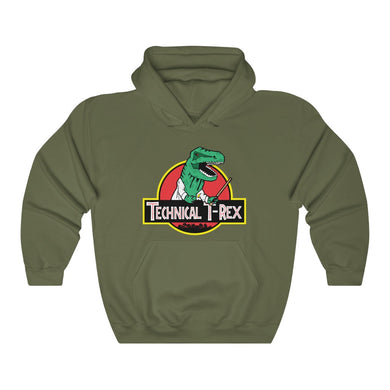 Technical T-Rex - Adult Unisex Hoodie
