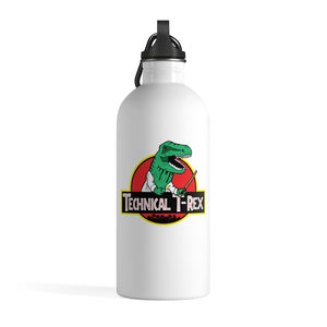 Technical T-Rex - Stainless Steel Water Bottle