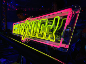 "HyperShock Neon Sign - ""MINI"" SIZE! (24"" Wide)"