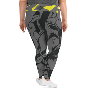KittyCamo Yoga Leggings (Plus Size)