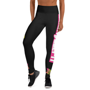 Yoga Leggings - Bars