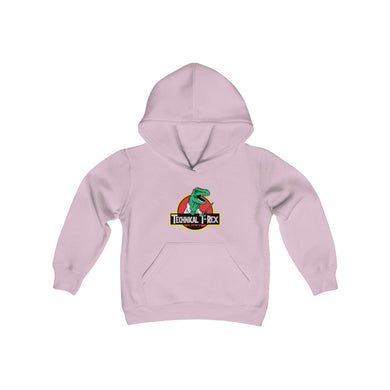 Technical T-Rex - Youth Hoodie