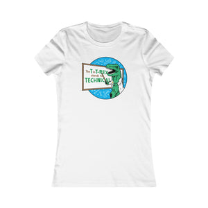 Whiteboard T-Rex - Adult Women's Tee