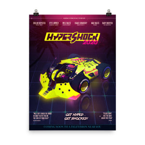 "HyperShock 2020 Movie Poster (18""x24"")"