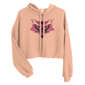 Crop Top Hoodie - Pretty Kitty