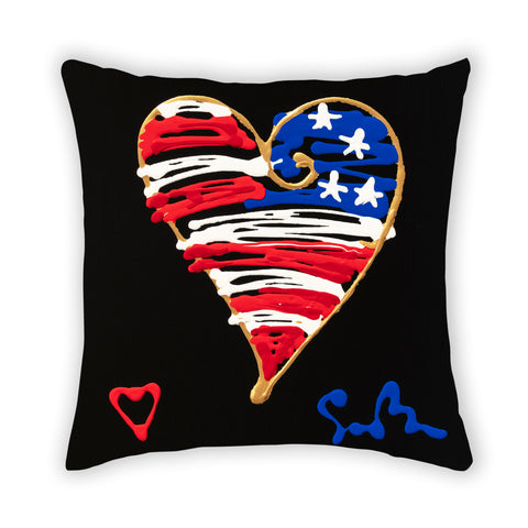 American Heart & Soul Pillow