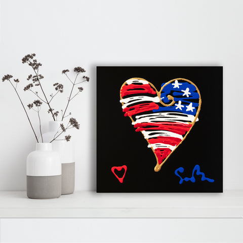 American Heart & Soul - Canvas