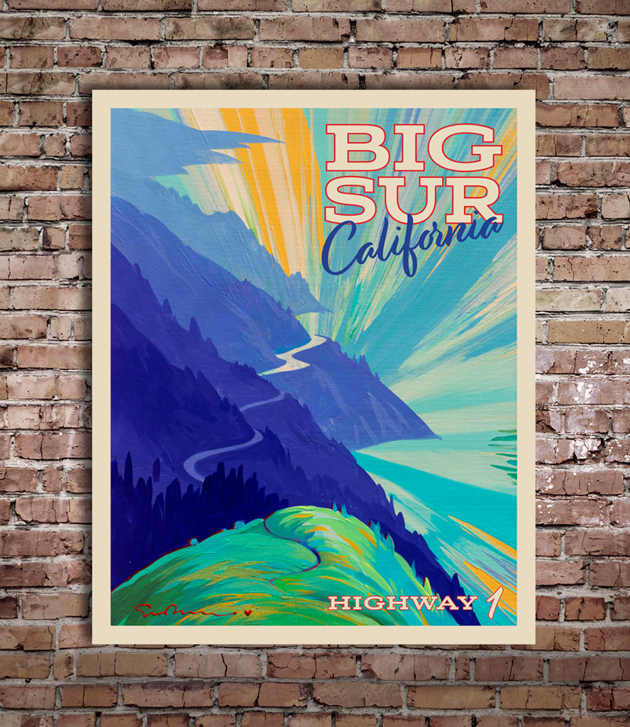 Big Sur II - World Traveler Collection