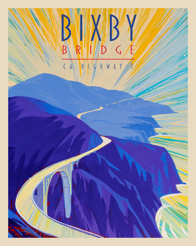 Bixby Bridge I - World Traveler Collection