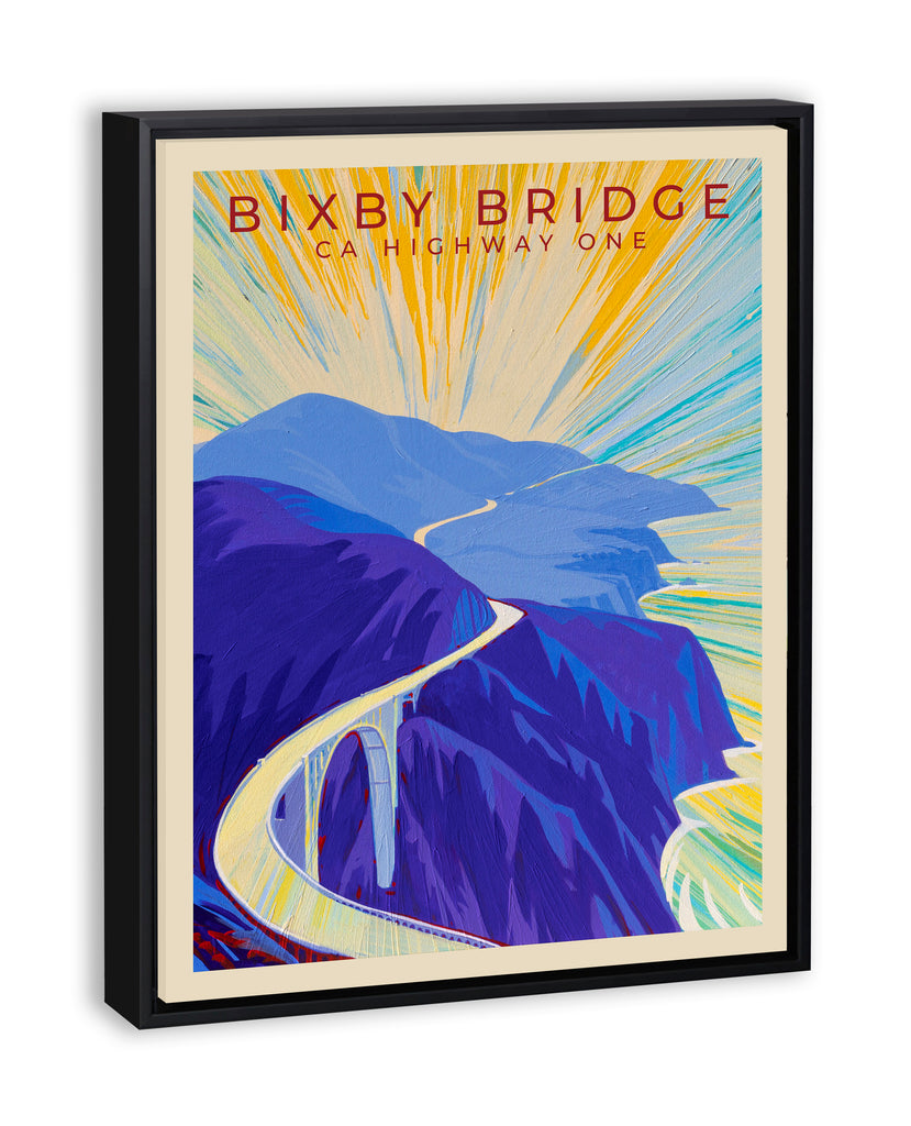 Bixby Bridge II - Travel Poster
