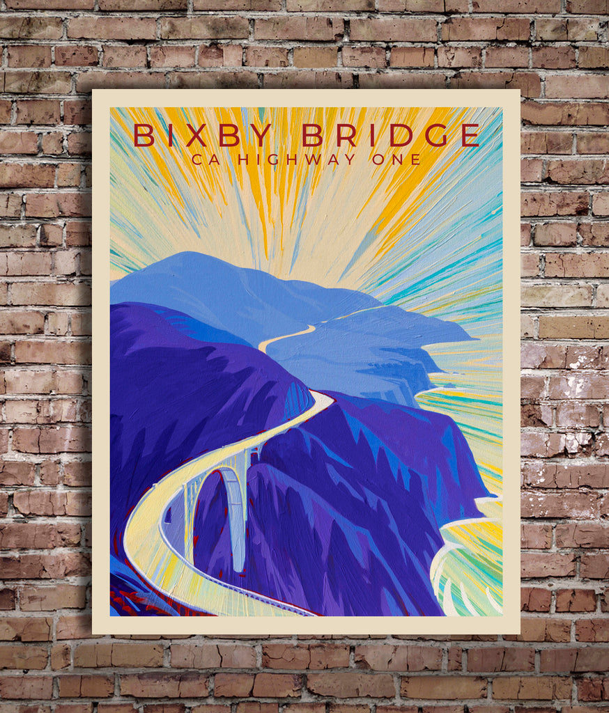 Bixby Bridge II - World Traveler Collection