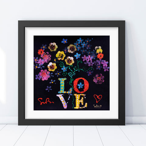 Bouquet of Love - Vintage Print
