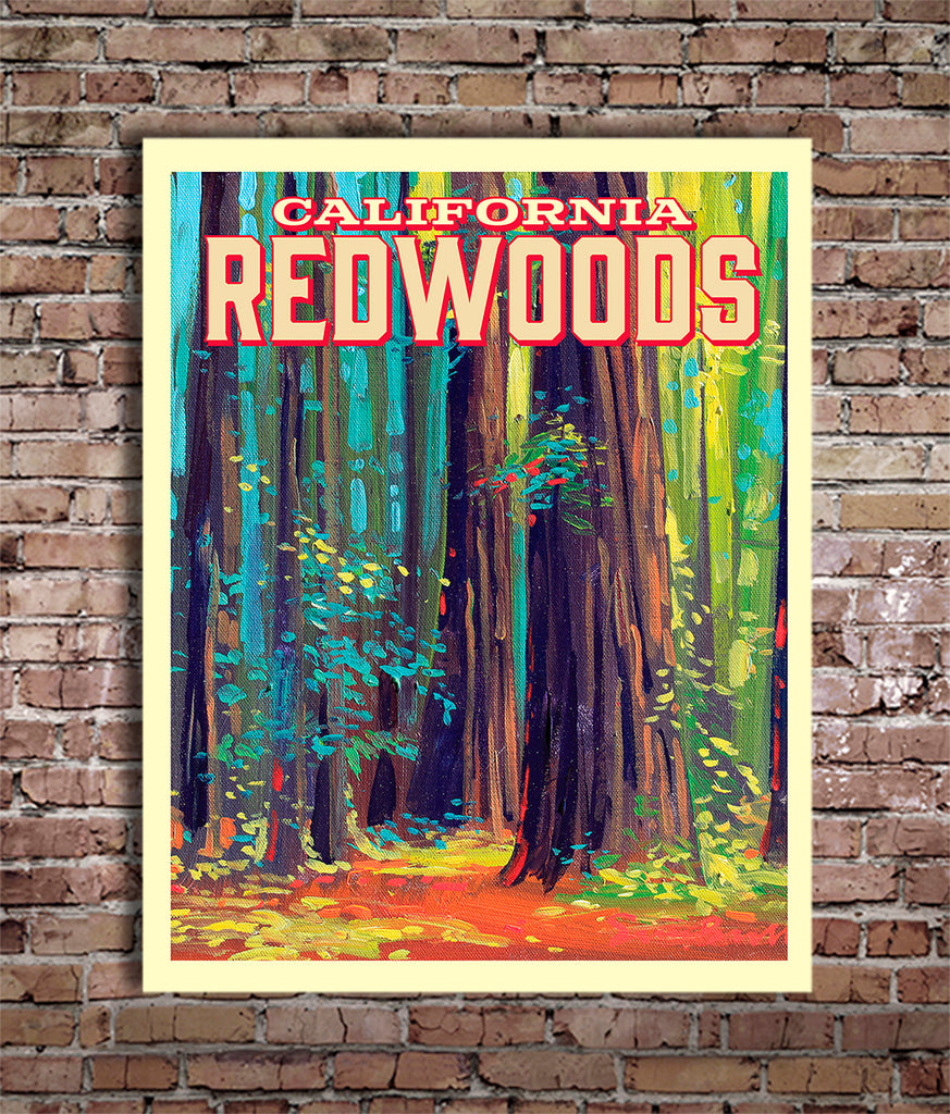 California Redwoods - World Traveler Collection