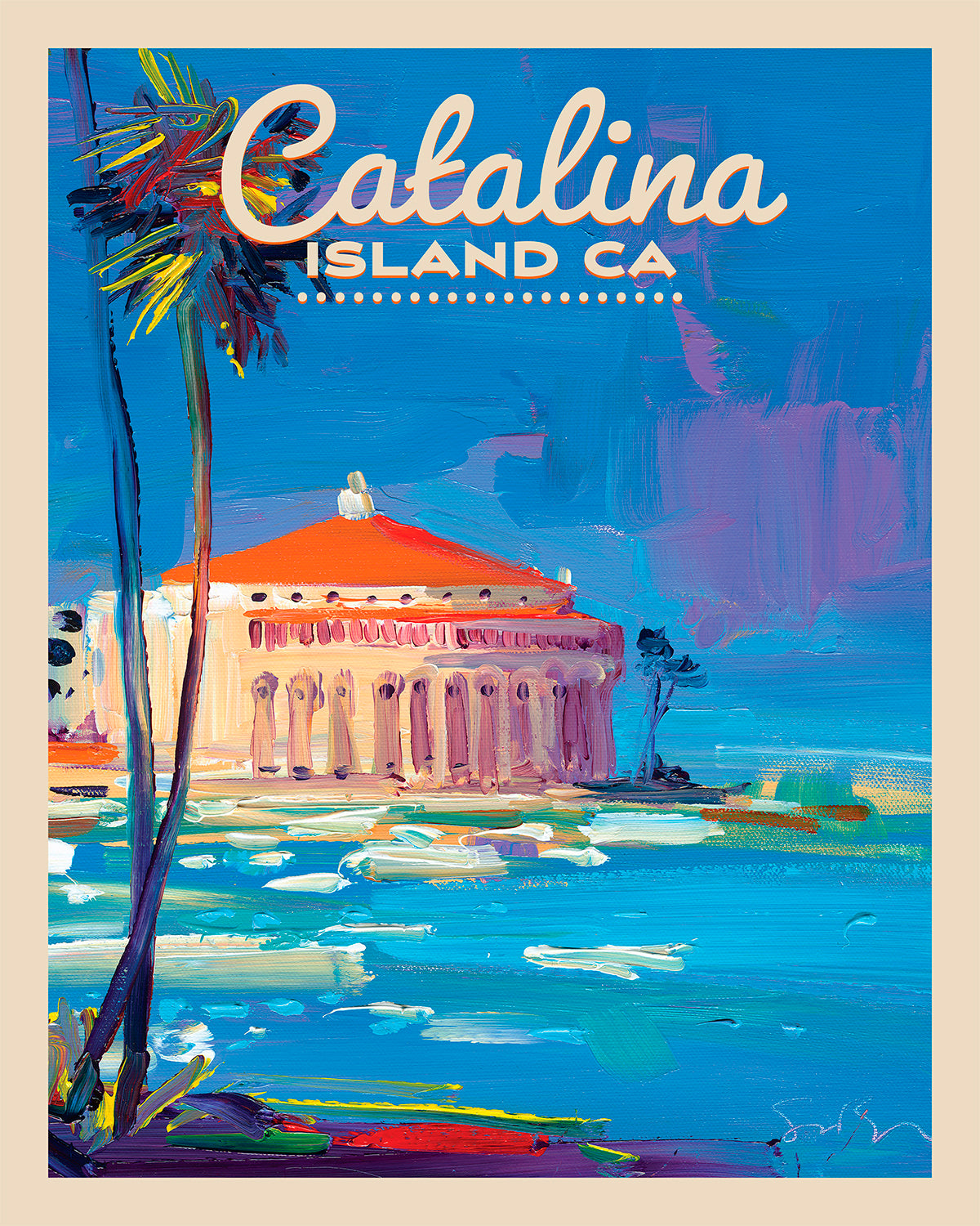 Catalina Island - Travel Poster