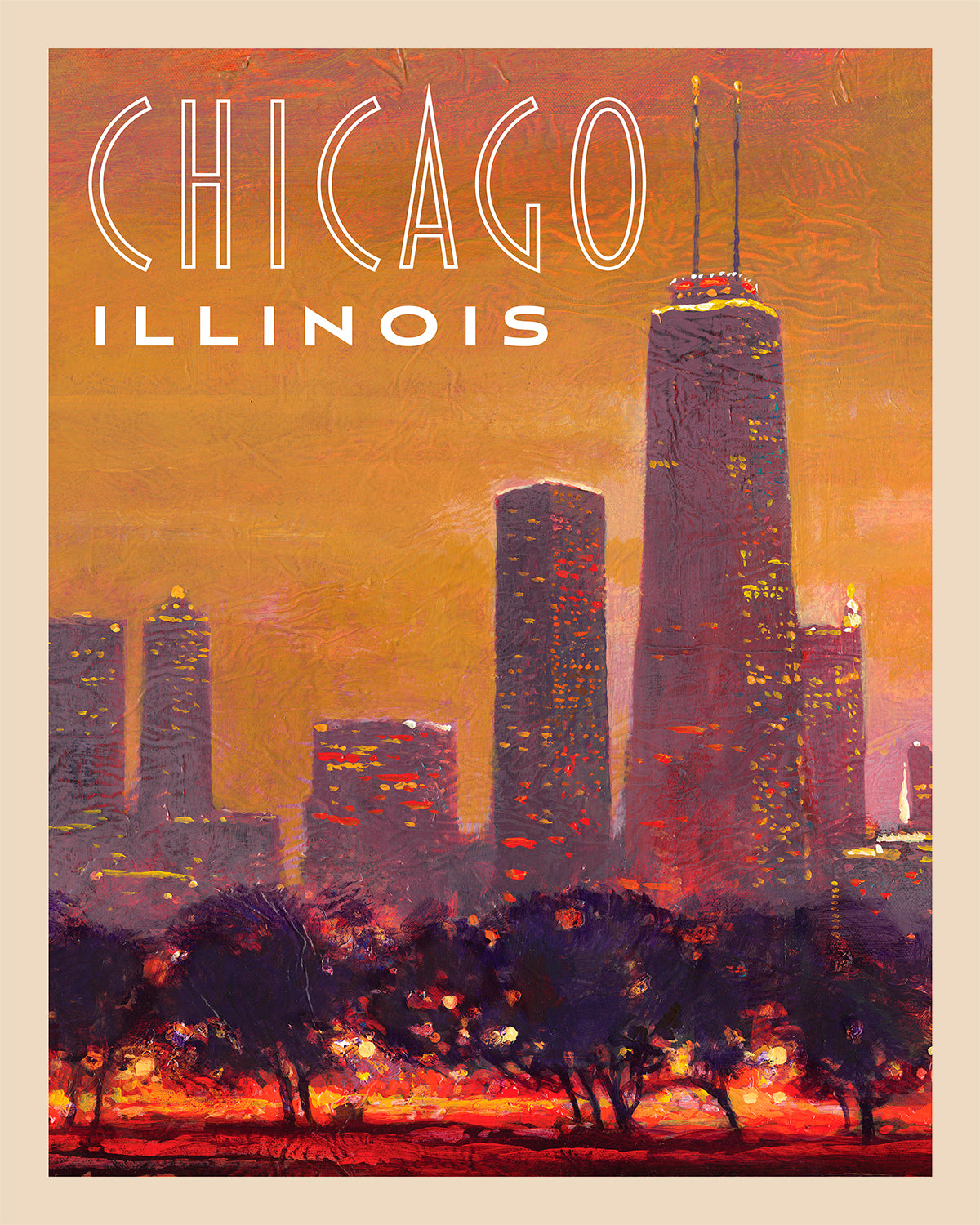 Chicago - Travel Poster