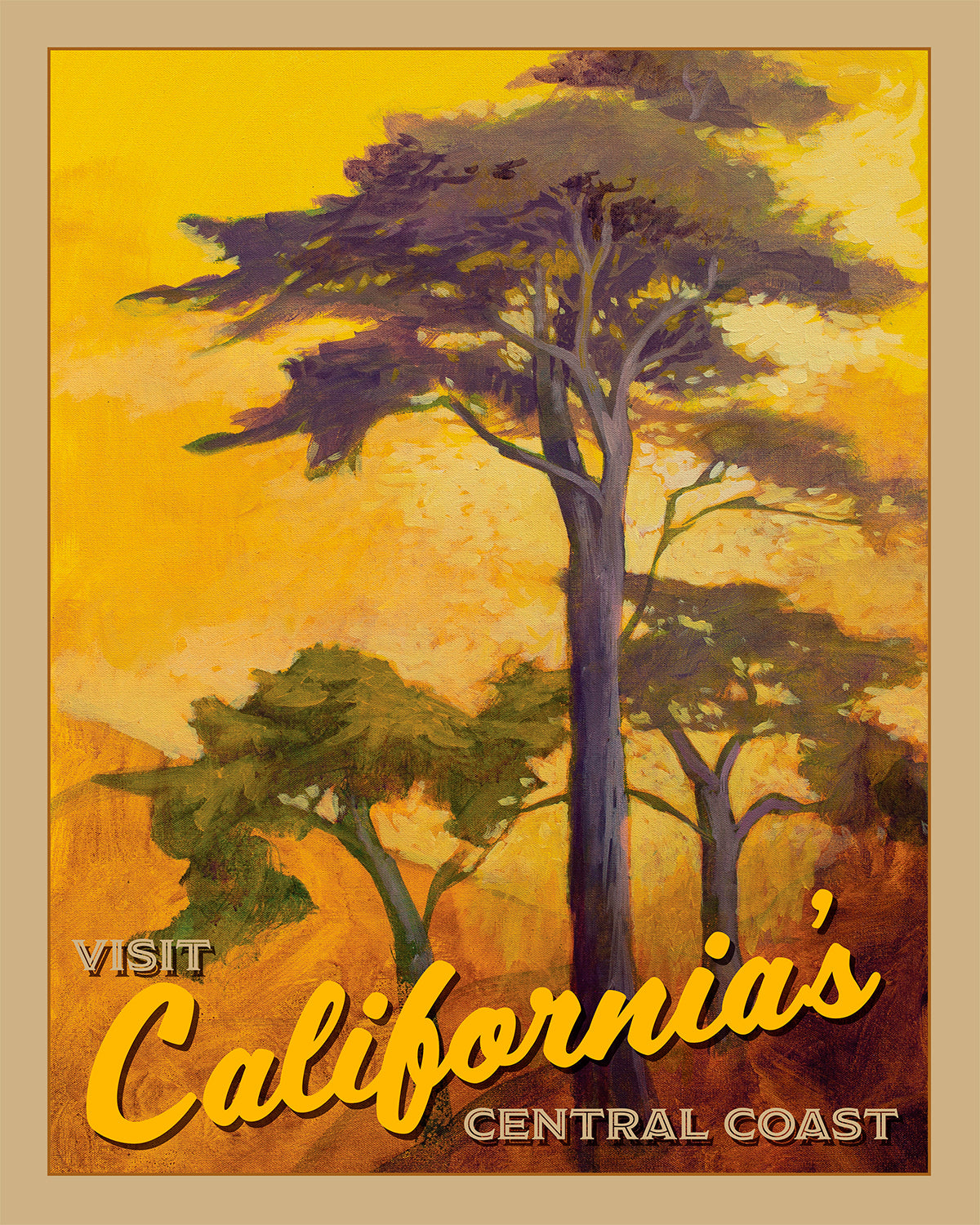 Coastal California II - Travel Poster