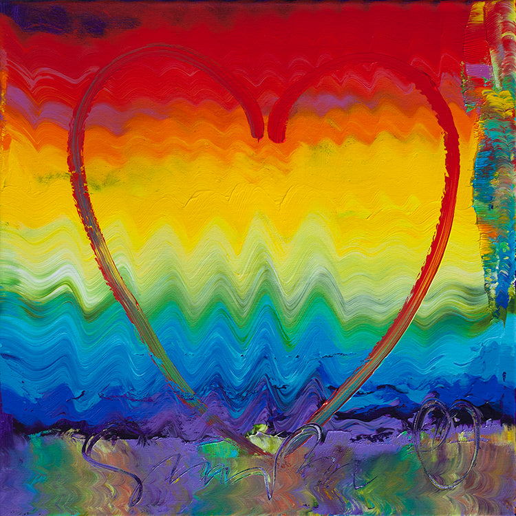 """Colors of Love"" Canvas + Free Pillow - Special Mother's Day Offer"