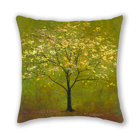 Forest Green Pillow