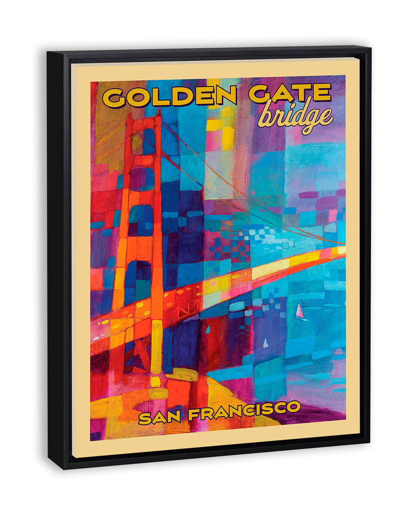 Golden Gate Bridge - Travel Poster