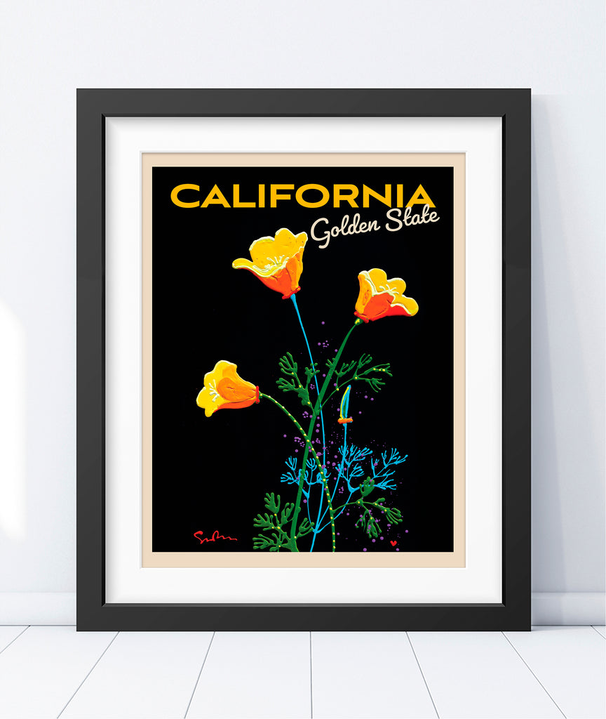 Golden State - Travel Poster