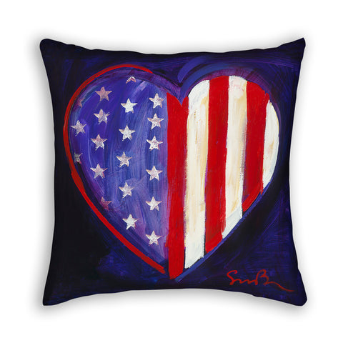 Heart of America Pillow