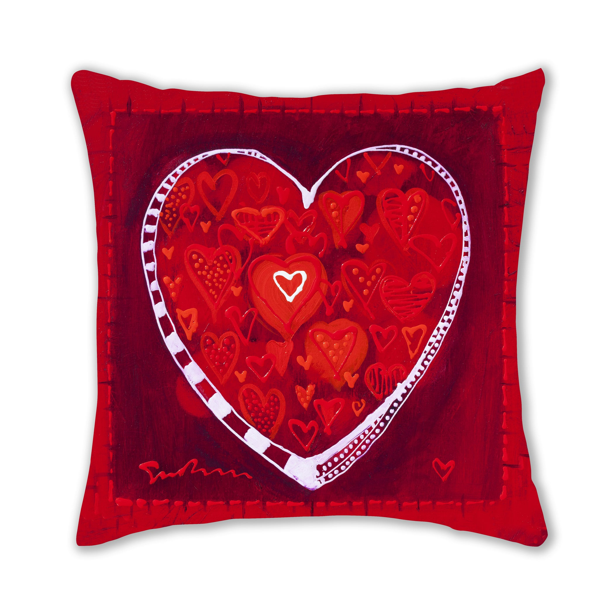 Hearts of Love Pillow