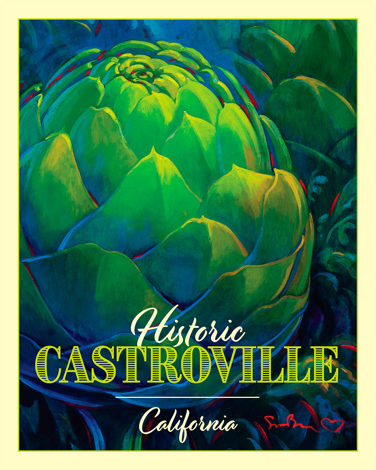 Historic Castroville - Travel Poster