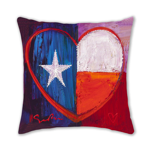 I Love Texas Pillow