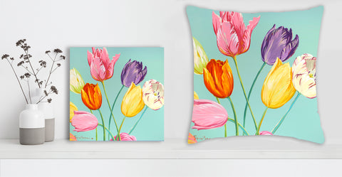 """New Day"" Canvas + Free Pillow - Special Mother's Day Offer"