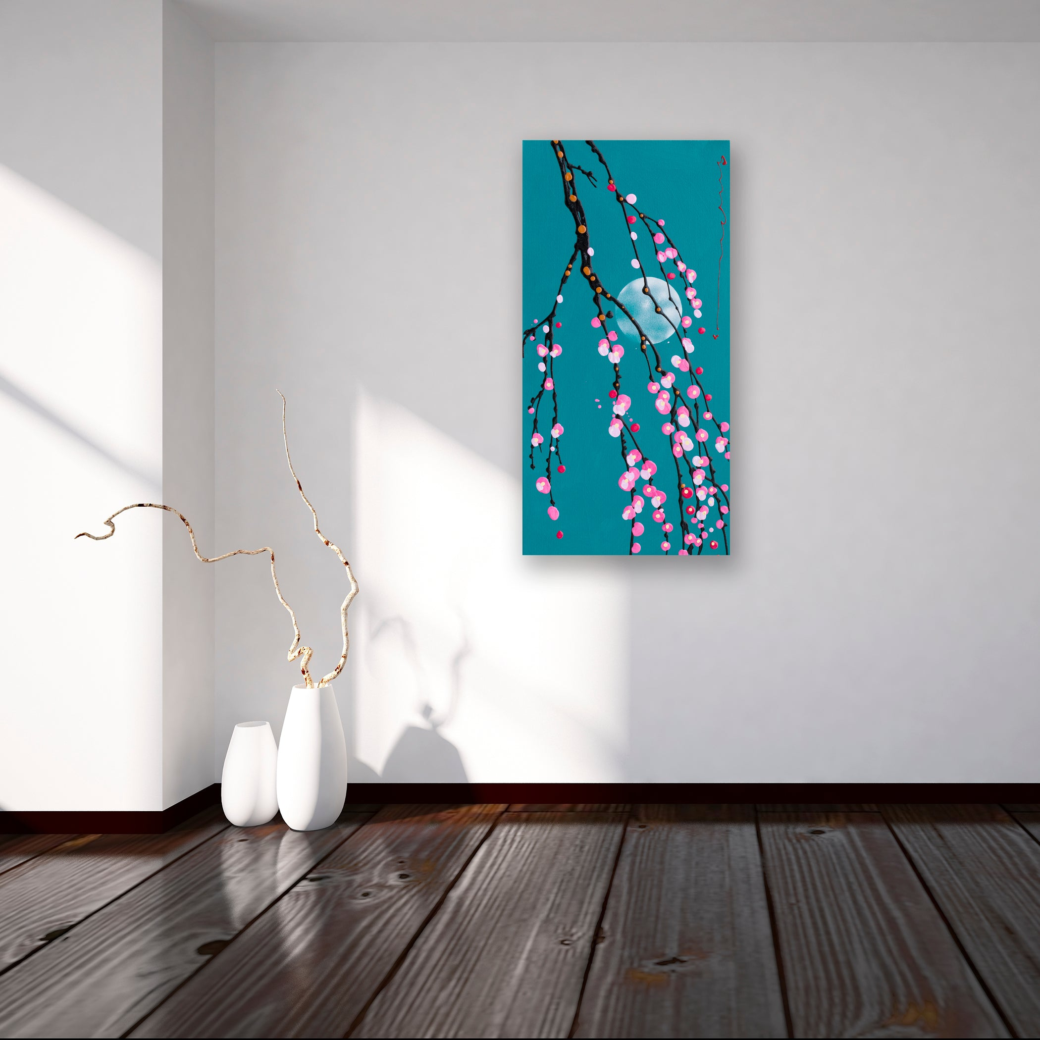 Plum Branches - Canvas