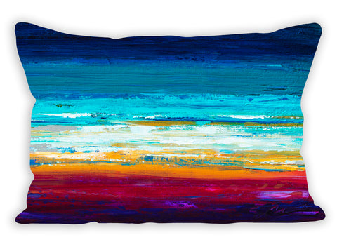 Sky & Surf Pillow