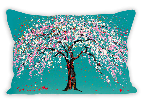 Spring Canopy Pillow