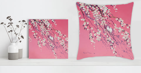 """Together Forever"" Canvas + Free Pillow - Special Mother's Day Offer"