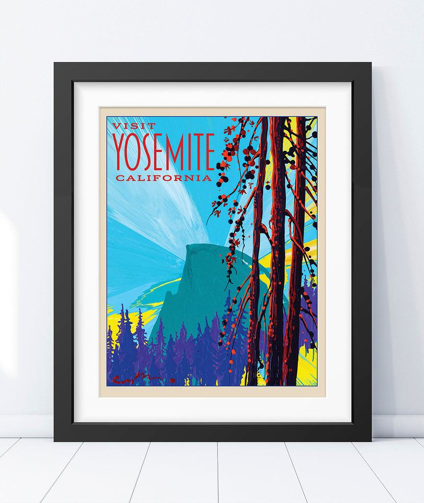 Yosemite: Dawn Half Dome - World Traveler Collection
