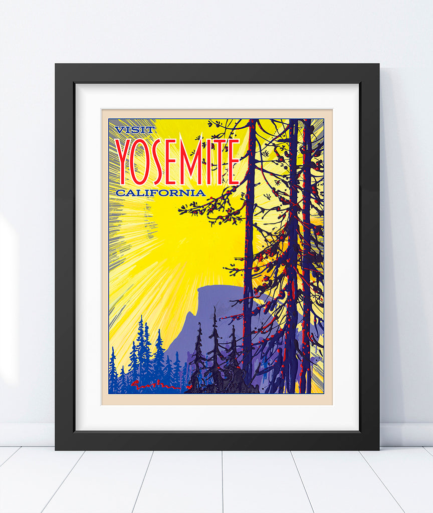 Yosemite: Half Dome Sunrise - World Traveler Collection
