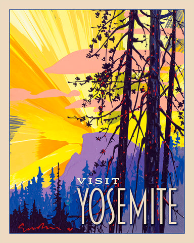 Yosemite: New Day Half Dome - World Traveler Collection